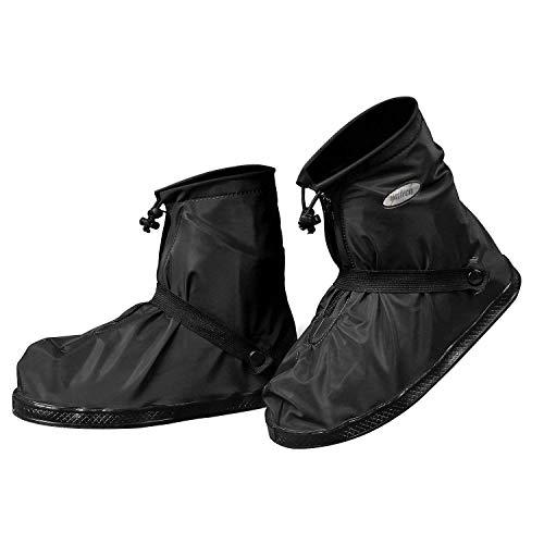 YMTECH Regenüberschuhe Wasserdicht Schuhe 1 Paar, Outdoor Rutschfester Radsportschuhe Überschuhe (40 - 41 EU)