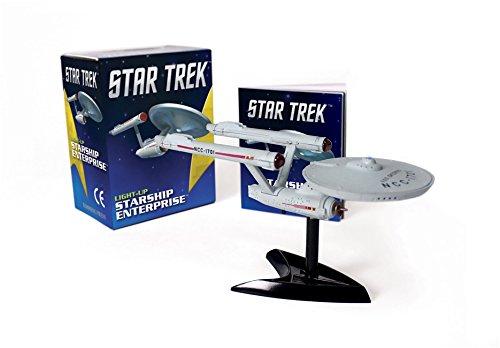 Preisvergleich Produktbild Star Trek: Light-Up Starship Enterprise (Miniature Editions)