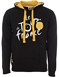 Tour de France Tdf-SA-3601 Sweat-Shirt Adulte Homme, Noir, FR : XL (Taille Fabricant : XL)