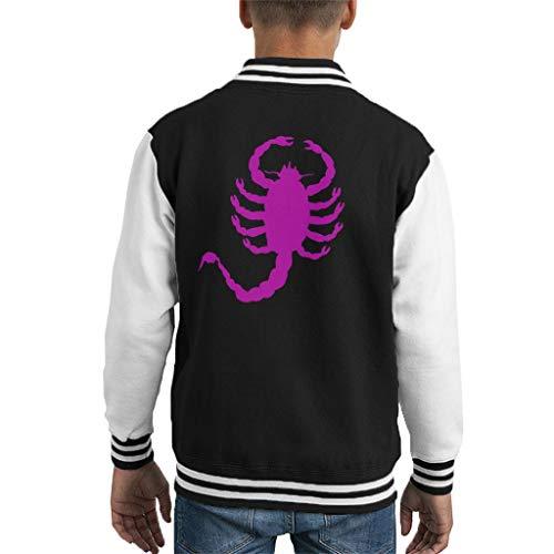 Cloud City 7 Drive Scorpion Minimal Kid's Varsity Jacket