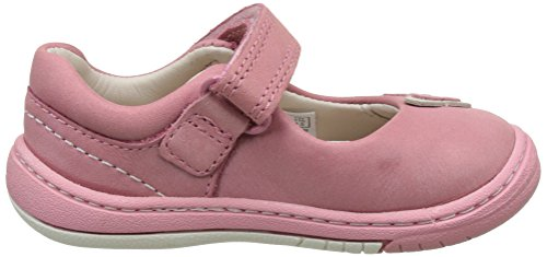 Clarks Softly Wow Fst, Chaussures Marche Bébé Fille Rose (Vintage Pink)