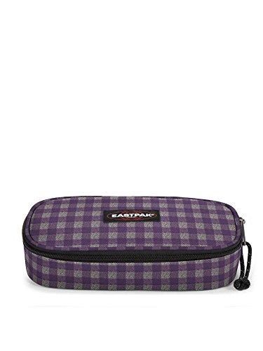 Eastpak Astuccio Scuola Oval Colore Checksange Purple