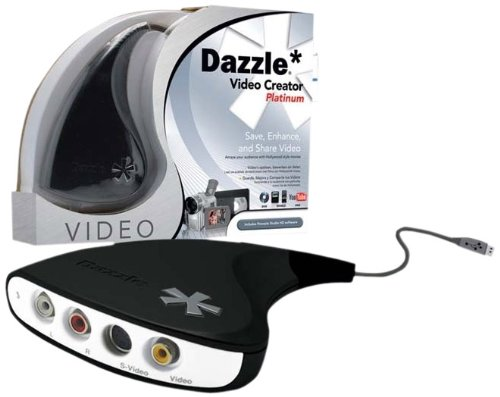 Avid DVC107 Dazzle Video Creator Platinum Videobearbeitungs-Soft- und Hardware für Windows XP/Vista 32/64 Bits USB