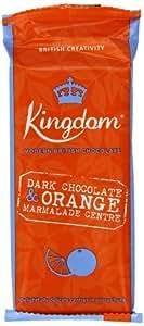 Kingdom Dark Chocolate and Orange Marmalade Centre Chocolate Bar 100 g (Pack of 5)