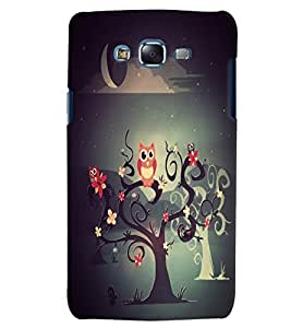 Citydreamz Owls/Cartoon/Abstract Hard Polycarbonate Designer Back Case Cover For Samsung Galaxy Grand I9082