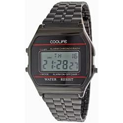 Coolife Unisex-Armbanduhr Retro Style Watches Digital Quarz Metall CL2013G921