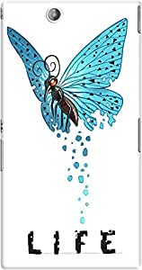 DailyObjects Life In Broken Wings Mobile Case For Sony Xperia Z Ultra