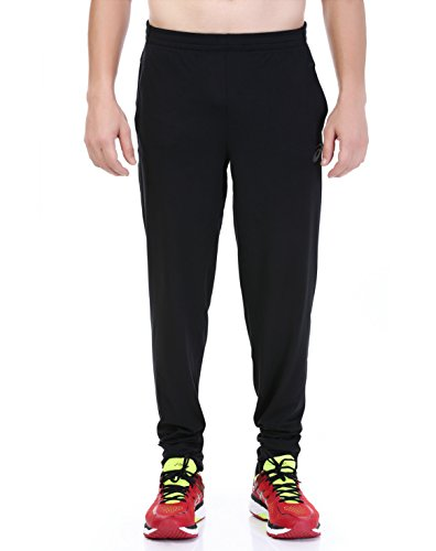 Asics Men's Knit Pants schwarz Performance Black M (Pants Mens Knit)