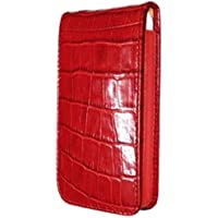 Piel Frama U595COR Krokodil Optik Magnetic Ledertasche für Apple iPhone 5/5S rot