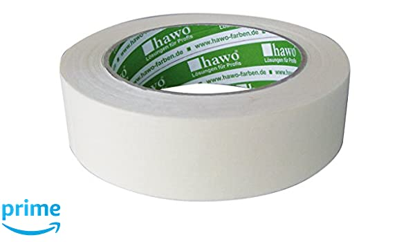 Hawo Professional Quality 684006 Fine Crepe Masking Tape 38 mm x 50 ...