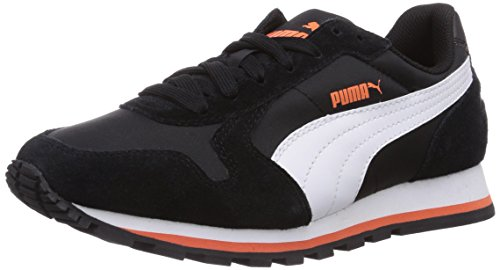 Puma St Nl Corredor, Unisex-adult Tênis Treinamento Preto (preto-branco-capuchinha 08)
