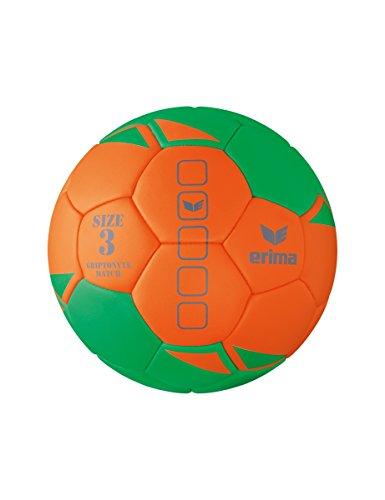 erima Griptonyte Match Handball, Green/Orange, 3