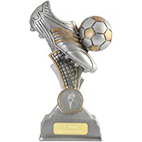 pokalspezialist Fußball Pokal BERNIS Fußballschuh Fußballpokal Trophäe 16 cm PVC mit oder ohne Gravur