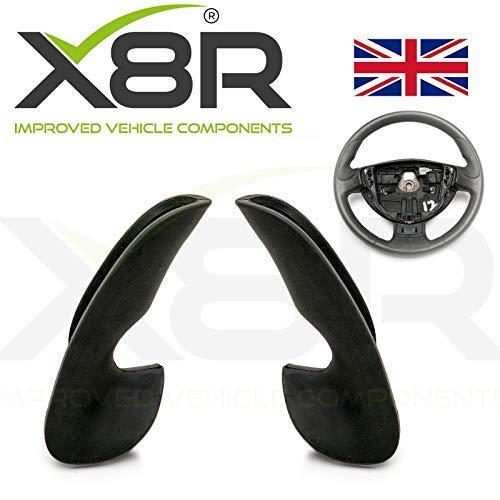 RENAULT SPORT RS Clio Mk II 172 182 VOLANT caoutchouc remplacement THUMB GRIPS