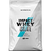 MyProtein Impact Whey Isolate Proteína de Suero, Sabor Chocolate Suave - 1000 gr