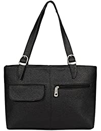 Borse Women/Ladies & Girls Sophisticated Black Shoulder Bag - Women's Everyday Casual & Stylish/Fashionable & Versatile Hand bags - Gift for Friend/Girlfriend & Wife