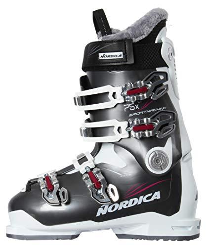 Nordica Damen Skischuhe Sportmachine 75 X W Weiss/grau (907) 26,5