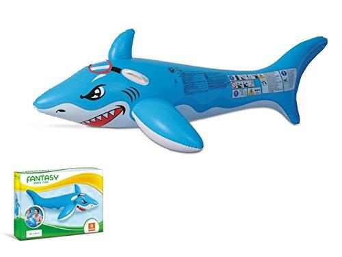 Mondo Toys Colchoneta Hinchable para Playa O Piscina Tiburón, (MD-16721)
