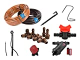 #2: Prima Drip Irrigation Kit with screen filter for 50 pots (Multi color)