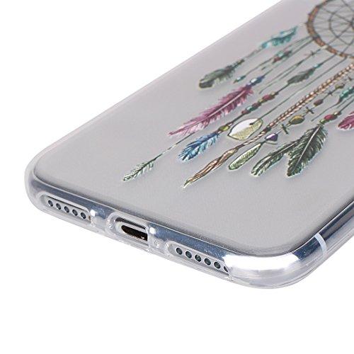 Cover Soft per iPhone X, Asnlove Morbida Elegante Caso Ultra Sottile TPU Gomma Gel Custodia Motif di Colore Cassa Antiurto Silicone Trasparente Case Posteriore Per iPhone X, Colore-2 Gruppo-2