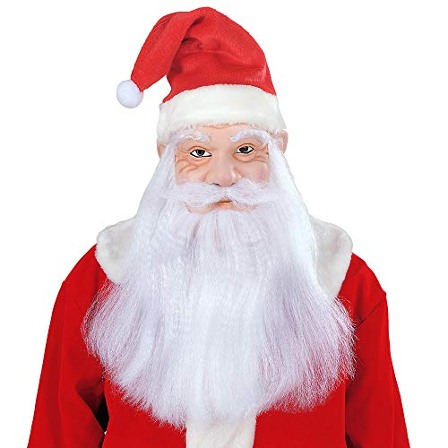 WIDMANN Babbo Natale Maschera Uomo Multicolore 1532S