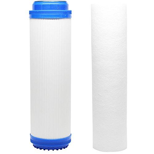 Ersatz Filter Kit für GE gx1s01r RO System–inklusive Polypropylen Sediment Filter & Granulat Aktivkohle Filter–Denali Pure Marke