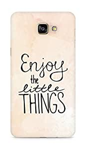 AMEZ enjoy the little things Back Cover For Samsung Galaxy A9