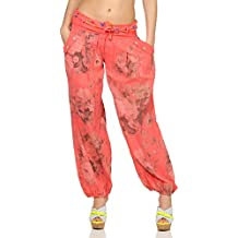 2d7ba94c5eb Malito Bombacho diseño Floral Boyfriend Aladin Harem Pantalón Sudadera  Baggy Yoga 3418A Mujer ...