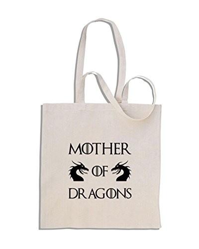 Mother of Dragons - Game of Thrones - Daenerys Targaryen - Bolso de compras de algodón