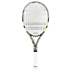 Babolat 101176-142 Aeropro Team GT Unstrung Tennis Racquet, 4 3/8 (Black/Yellow)