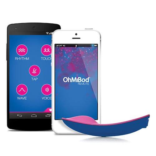 Ohmibod Bluemotion Nex1 Blue And Hot Pink 0 66 Pound By Ohmibod