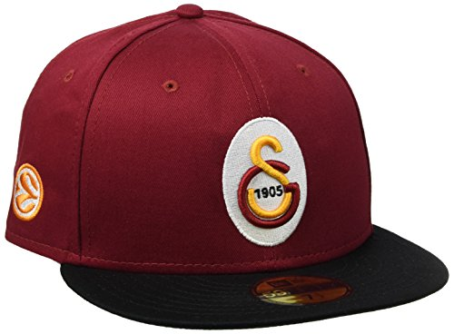 New Era EL Basic Galatasaray Istanbul casquette 7 1/2 red/yellow