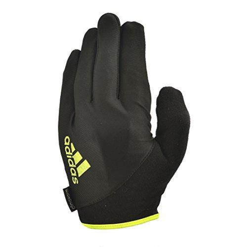 Adidas guantes Dedo Completo esencial - amarillo, pequeño