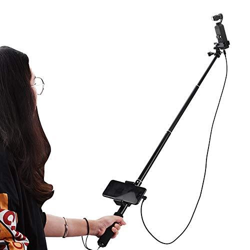 Teleskop Selfie Stick Extension Kit mit Telefonclip und Datenkabel Kompatibel für iOS/Android/Typ C-Telefon für DJI OSMO Pocket Camera(für Typ-C-Telefon) Telefon-extension-kit