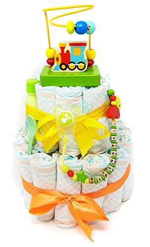 Windeltorte Badespa/ß Das perfekte Geschenk zur Geburt /& Taufe Junge