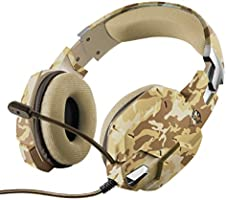 Trust Gaming GXT 322D Carus Gaming Headset, Beige