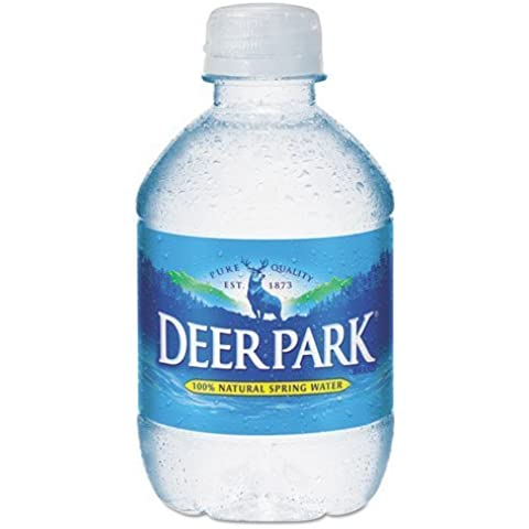 Deer Park - Natural Spring Water, 8 oz Bottle, 48 Bottles/Carton 828473 (DMi CT by Deer Park