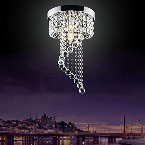 miaossss Moderne led-Lampe deckenleuchte anhänger leuchte Beleuchtung kristall kronleuchter [energieklasse a + +] (größe: Durchmesser / 20 cm) -