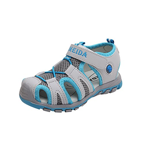 Gloria JR Kinder Outdoor Athletic Sandale F¨¹r Jungen Kinder Grau(Gray)