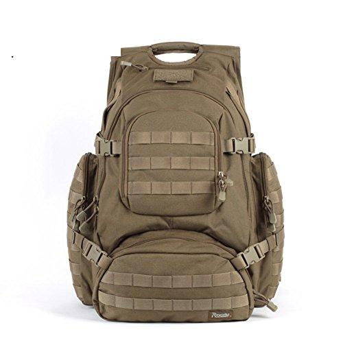 Fan di Noah tattico esercito zaino Campeggio/Kit di espansione del campo allaperto-la mimetizzazione 1 40L cachi