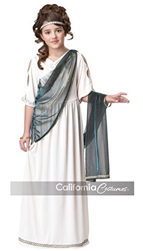 Roman Goddess Princess Dress Costume Child X-Large 12-14