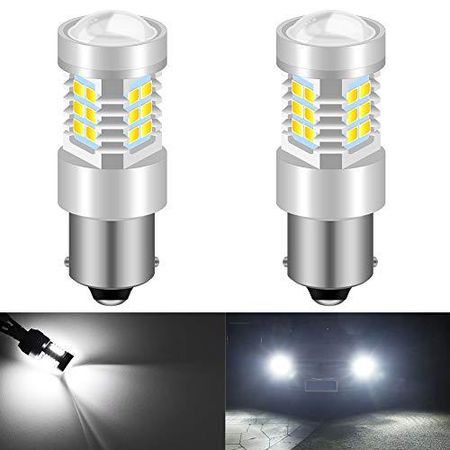KaTur 1156 BA15S 1141 P21W 7056 Ampoules LED Haute Puissance 2835 21 chipsets Super Lumineux avec Remplacement du projecteur pour Feux de recul, Feux de recul DRL, Feux arrière, Blanc xénon