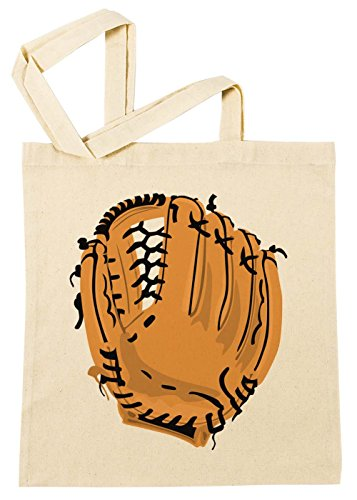 Erido Baseball Handschuh Einkaufstasche Wiederverwendbar Strand Baumwoll Shopping Bag Beach Reusable (Baseball-kunst-drucke)