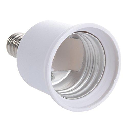 Einem Kandelaber-buchse (REFURBISHHOUSE E12 - E27 Kandelaber Gluehbirne Lampenfassung enlarger Adapter)