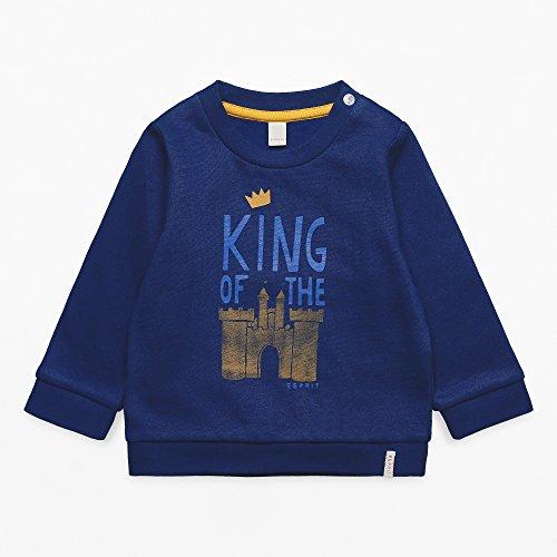 Esprit Baby - Jungen RK18062 Sweatshirt,per Pack Blau (Deep Indigo 491),80