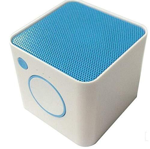 Bluetooth Altavoz Mini-Box al Aire Libre Tarjeta de Regalo de Audio, Azul