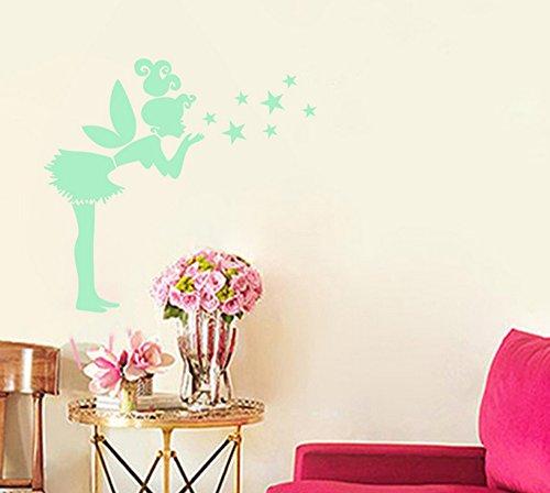 Extsud® Adesivi Murali Fata Stelle Fluorescenti, Wall Stickers ...