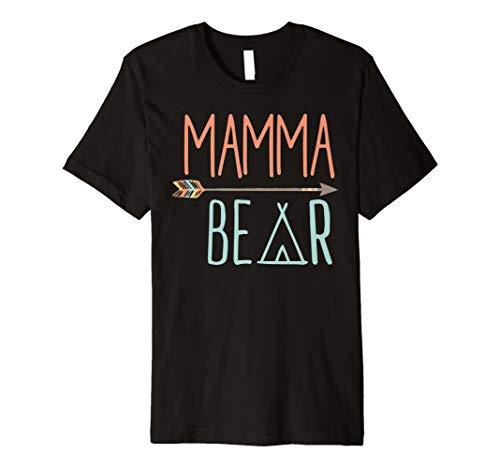 Mamma Bär Shirt Mama Bär TShirt (Bär T-shirt Damen)