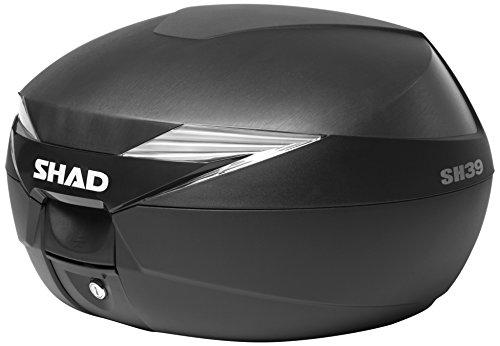 Preisvergleich Produktbild Shad D0B39100 Topcase mit Montageplatte Enthalten, Schwarz
