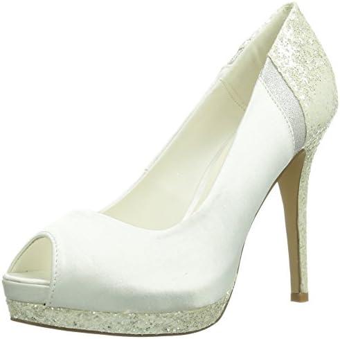 Paco Mena Diana - Zapatos de vestir de raso para mujer